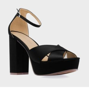 Shoes - Coming!! Women's Satin Platform Sandals
